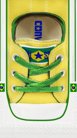 coque All Star Basket shoes Brazil