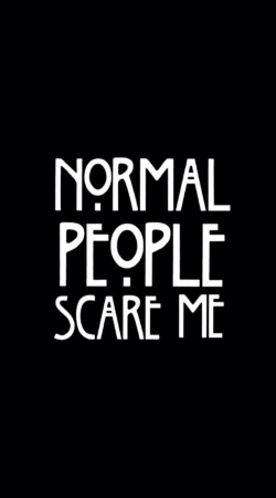 coque American Horror Story Normal people scares me