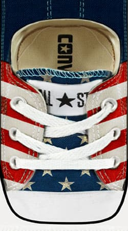 coque Chaussure All Star Usa