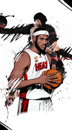 coque Basketball Stars: Lebron James