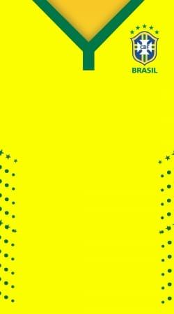 nouveau style de vie promotion spéciale 60% de réduction Coque Brésil Maillot Selecao Domicile