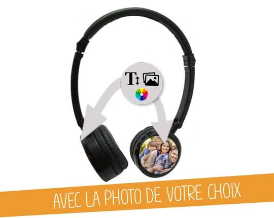 Casque Audio Stéréo personnalisée
