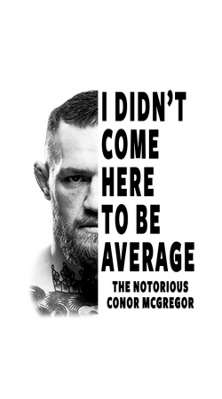coque Conor Mcgreegor Dont be average