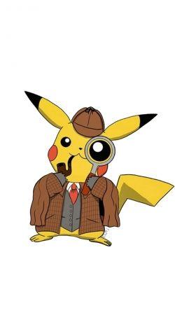 Coque Detective Pikachu X Sherlock