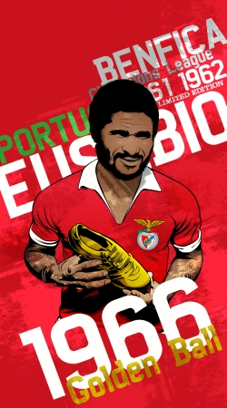 coque Eusebio Tribute Portugal