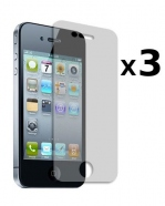 Pack de 3 films de protections Iphone 4/S