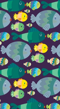 coque Fish pattern