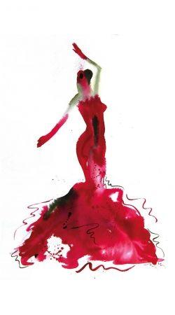 coque samsung danseuse