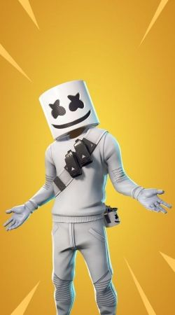 coque Fortnite Marshmello Skin Art