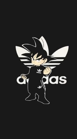coque Goku Bad Guy Adidas Jogging