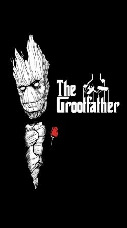 coque GrootFather is Groot x GodFather