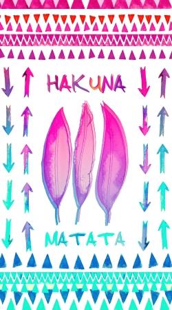 Coque HAKUNA MATATA