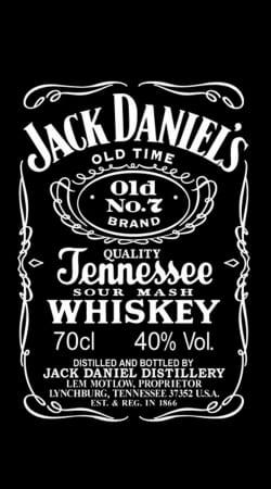 Coque Jack Daniels Fan Design