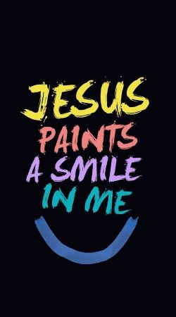 coque Jesus paints a smile in me Bible