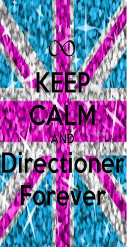 coque Keep Calm And Directioner forever