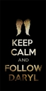 coque Keep Calm and Follow Daryl