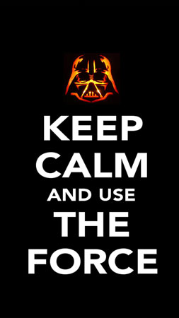 coque Keep Calm And Use the Force