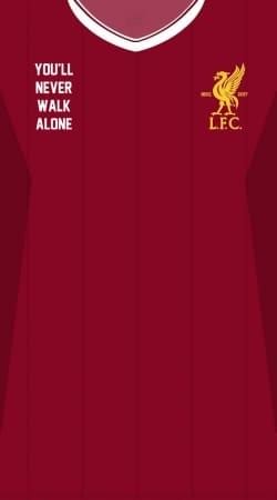 coque Liverpool Maillot Football Home 2018
