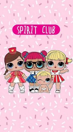 Coque Lol Surprise Dolls Cartoon