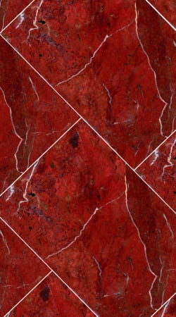 coque Minimal Marble Red