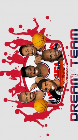 coque NBA Legends: Dream Team 1992