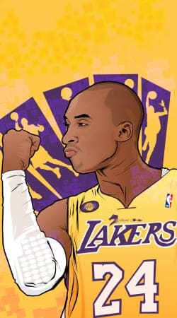 coque NBA Legends: Kobe Bryant