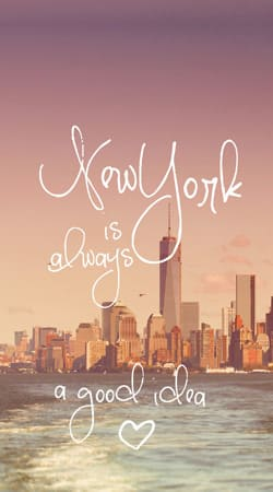 coque New York always...