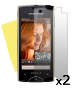 Pack de 2 films de protections Sony Ericsson Xperia Ray personnalisable