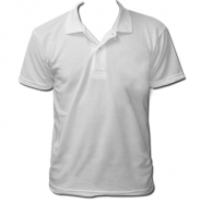 Polo Homme Blanc Manche Courte