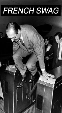 coque President Chirac Metro French Swag