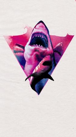 Coque Requin violet