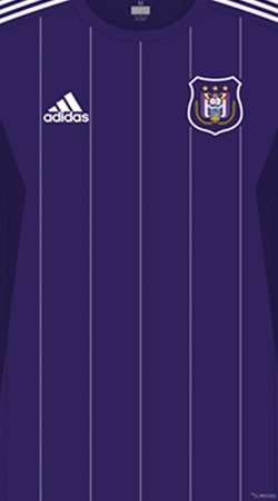 coque RSC Anderlecht Maillot Football
