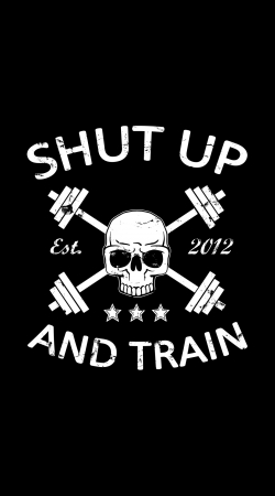 coque Shut Up and Train