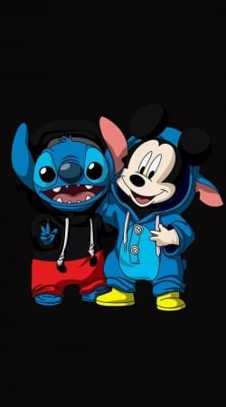 coque Stitch x The mouse