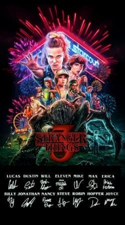 coque Stranger Things 3 Dedicace Limited Edition