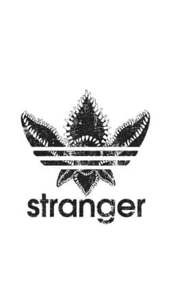coque Stranger Things Demogorgon Monstre Parodie Adidas Logo Serie TV