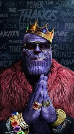 coque Thanos mashup Notorious BIG