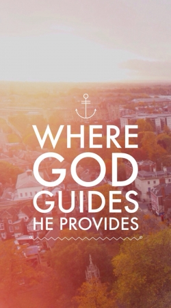 coque Where God guides he provides Bible