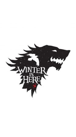 coque Winter is here Game Of Thrones Art Ending