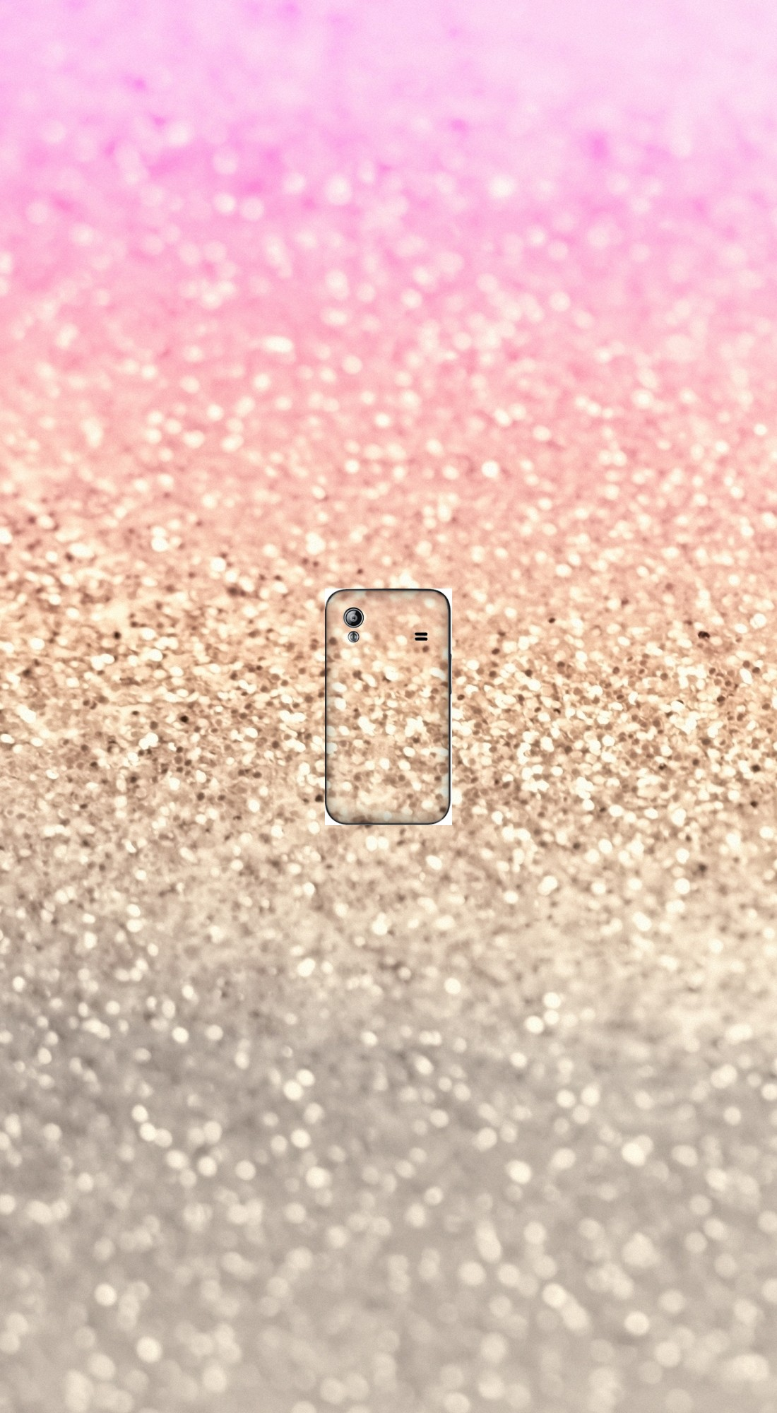 housse Gatsby Glitter Pink a clapet pour Samsung Galaxy Ace S5830