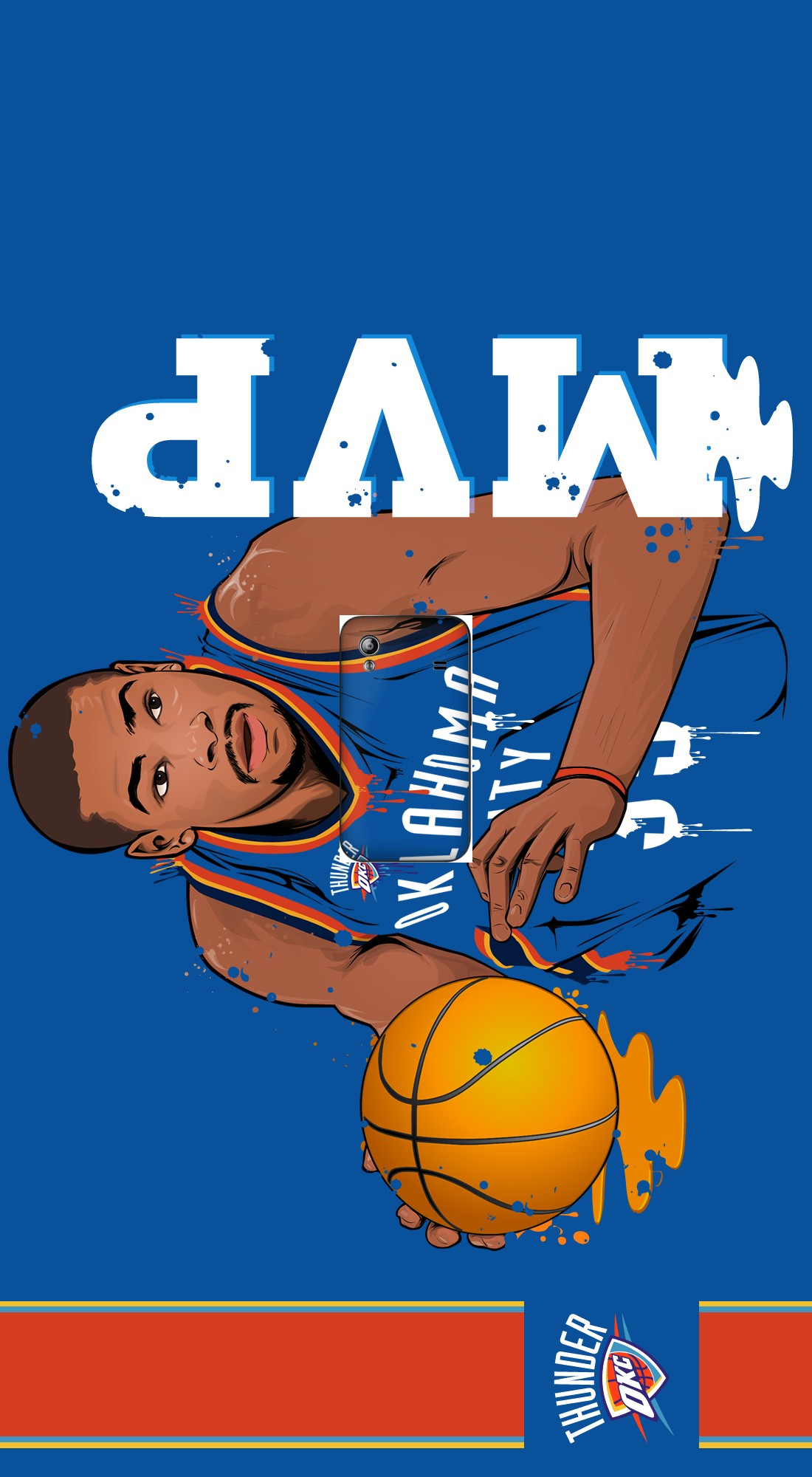 housse NBA Legends: Kevin Durant  a clapet pour Samsung Galaxy Ace S5830