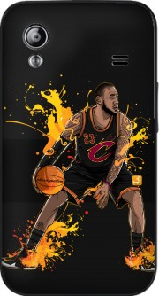 housse The King James a clapet pour Samsung Galaxy Ace S5830