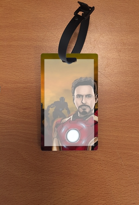 étiquette bagage Avengers Stark 1 of 3