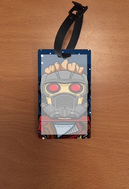étiquette bagage Bricks Star Lord