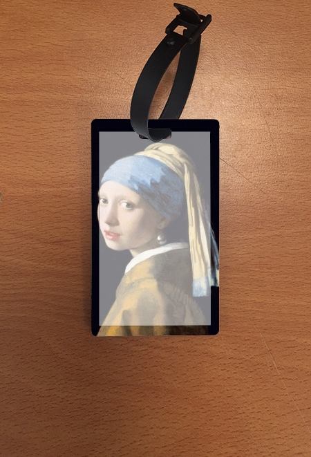 étiquette bagage Girl with a Pearl Earring