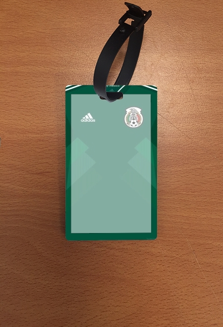 étiquette bagage Mexico World Cup Russia 2018