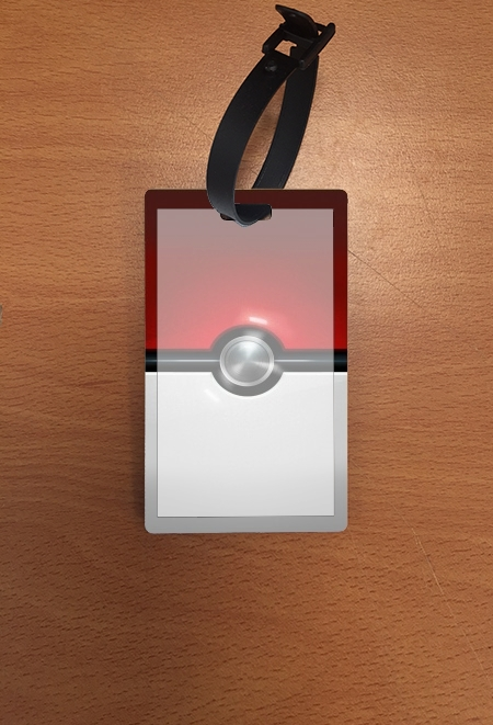 étiquette bagage PokeBall