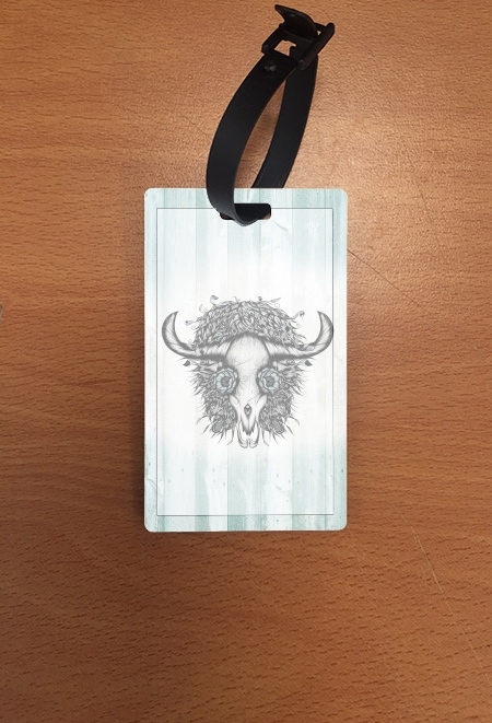 étiquette bagage The Spirit Of the Buffalo
