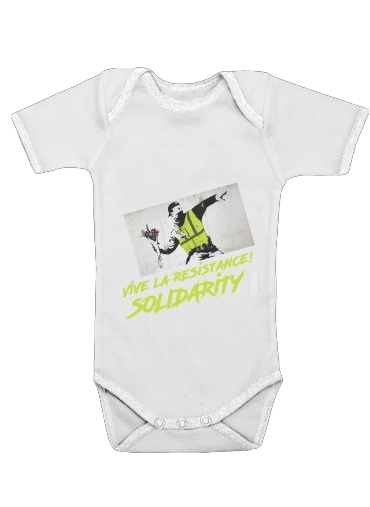 body bébé Bansky Yellow Vests