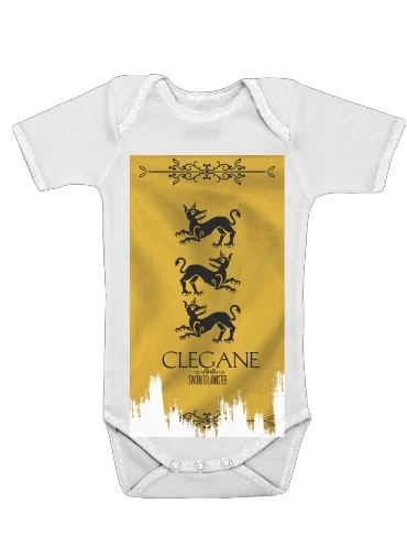 body bébé Flag House Clegane